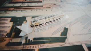 Miniatur der Titanic